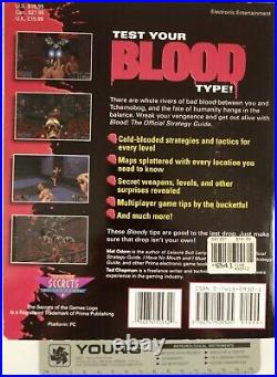 Very Rare ONE UNIT WHOLE BLOOD collection in BIG BOX + Official Strategy Guide