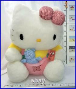 Vintage 2000s Sanrio Hello Kitty Plushy Plush doll Toy Big size Japan Rare Cute