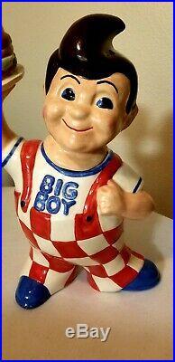 Vintage Big Boy Cookie Jar Extremely rare