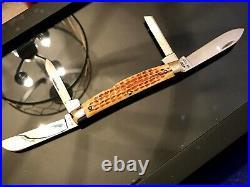 Vintage Case XX USA 2ND Cut Stag 5488 Big 4 Blade Congress Knife(65-69)Rare, Mint