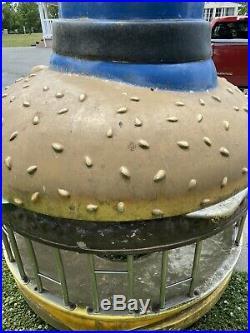 Vintage Mcdonalds Playground Officer Big Mac Hamburglar Rare