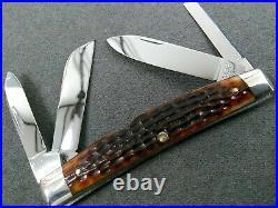 Vintage Rare Mint Case 6488 Transition 1964-1965 Big Congress Bone Knife