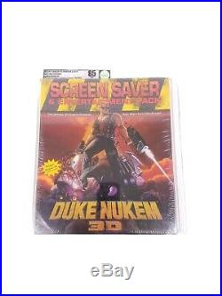 Vtg VGA Graded Sealed Duke Nukem 3D Screen Saver Entertainment Pack NM+ Big Box