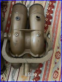 WW2 Japanese Big Eye Military Binoculars withBackpack Carrying Case Rare