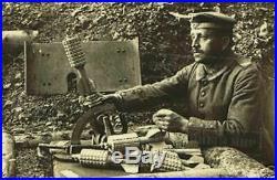 Ww1 german SNIPER SHIELD. RARE TYPE. BIG WEIGHT 23 KG